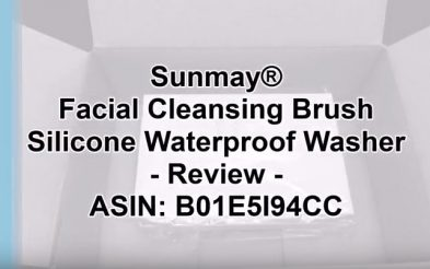 Facial Cleansing Brush Sunmay Silicone Waterproof Washer